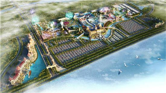 哈尔滨波塞冬海洋王国是马来西亚建荣集团投资100亿元打造的国际