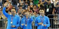 30年后龙江乒乓球再夺冠军 全运会混双赛场刮起青春旋风 - 体育局