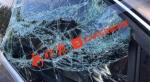 哈尔滨通乡街松海路交口一夜30余车辆的副驾玻璃被砸 - 新浪黑龙江