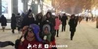 雪夜留客 哈尔滨中央大街商家使出了洪荒之力 - 新浪黑龙江