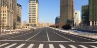 哈市中兴左街打通路段通车 路边停车会被贴罚单 - 新浪黑龙江