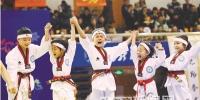哈尔滨国际冰雪节跆拳道公开赛开赛 - 哈尔滨新闻网
