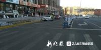 哈尔滨职工街地道桥新通车路段及辅路严禁停车 - 新浪黑龙江