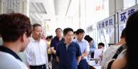 本科,新生,迎新 校领导看望本科新生并慰问迎新工作人员 - 哈尔滨工业大学