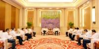 张庆伟会见首都机场集团公司总经理刘雪松一行 - 人民政府主办