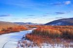 呼中冬季景观 - 新浪黑龙江