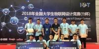 物联网设计 我校学子获全国大学生物联网设计竞赛一等奖3项 - 哈尔滨工业大学