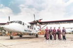 运12E在尼泊尔卢卡拉机场执飞 - 新浪黑龙江