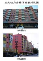 哈市香坊区20栋楼粉刷一新 清理乱贴广告5000处 - 新浪黑龙江