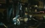 深夜哈尔滨红旗大街电压器突然起火 两车被引燃 - 新浪黑龙江