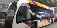 虚拟轨道、双向行驶 智轨电车在哈尔滨进行高寒地区首测 - 新浪黑龙江