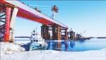 中俄黑河黑龙江大桥建设正酣 - 人民政府主办