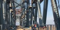 同江中俄铁路大桥合龙 预计7月实现贯通 - 发改委