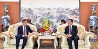 张庆伟分别会见俄滨海边区州长科热米亚科和伊尔库茨克州州长列夫琴科 - 人民政府主办