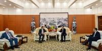 张庆伟王文涛在哈会见俄副总理阿基莫夫一行 - 人民政府主办