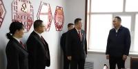 牡丹江中院党组书记、院长宋殿宝到基层法庭(办案点)走访调研 - 法院